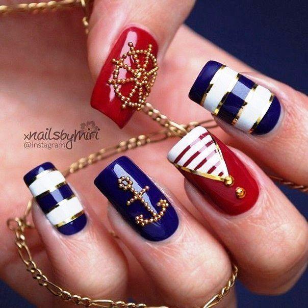 Nail Art #1757 - Best Nail Art Designs Gallery | Nail stripes ...