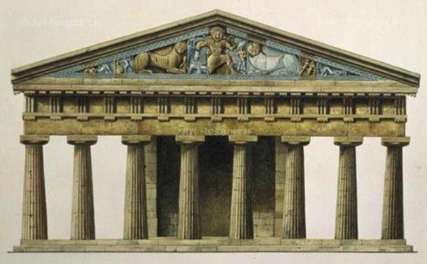 25 influential pieces of ancient greek architecture pinterest