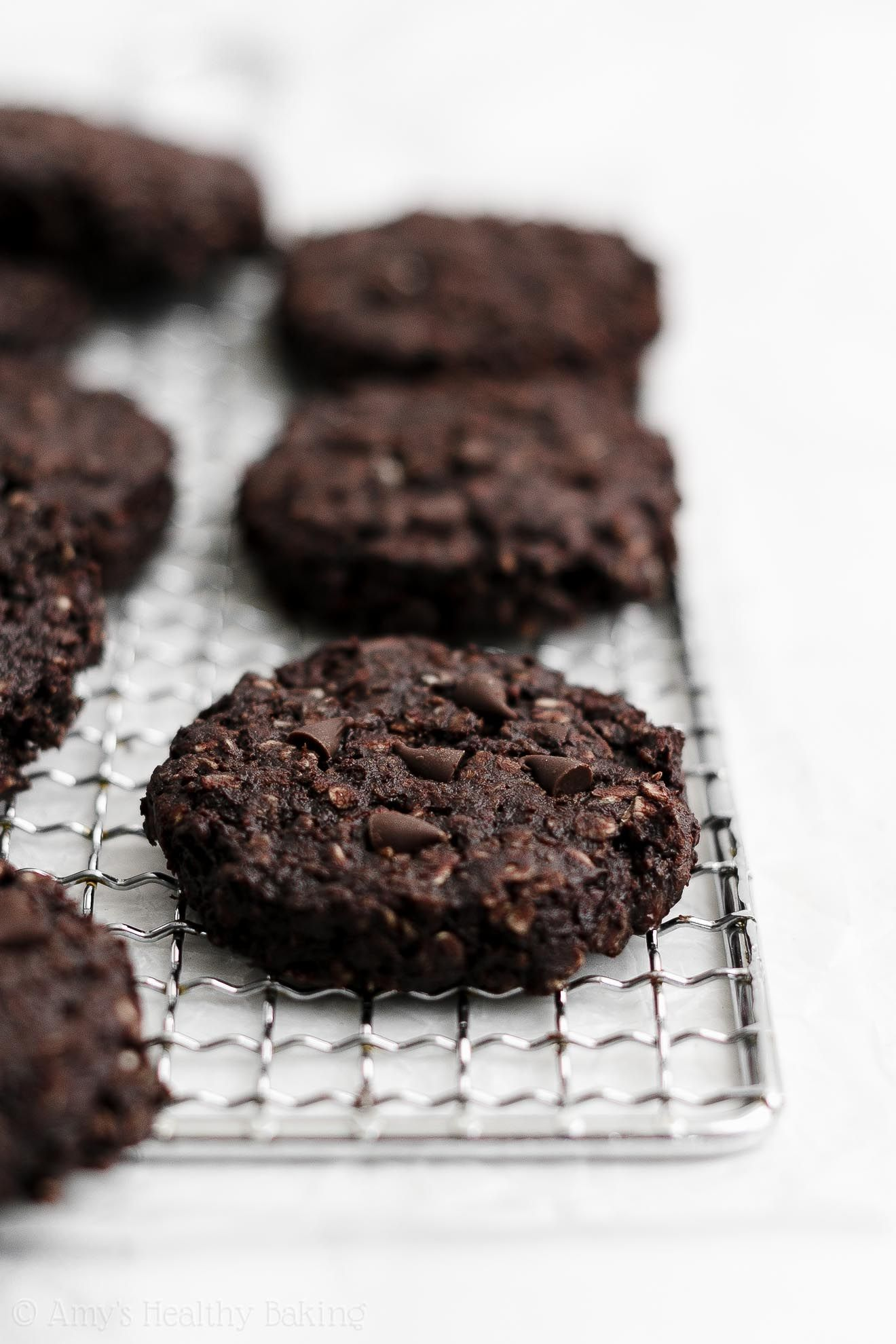 Healthy Flourless & Eggless Double Chocolate Oatme