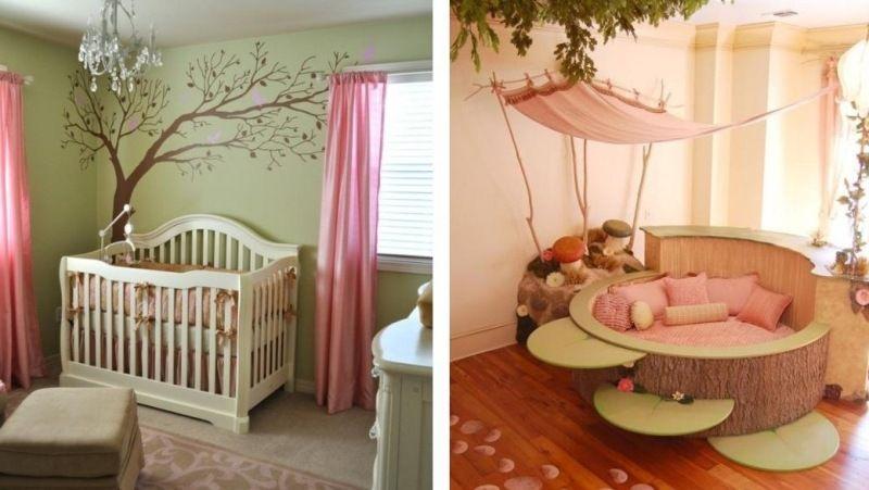 Décoration chambre bébé créative- 35 idées en couleurs ...