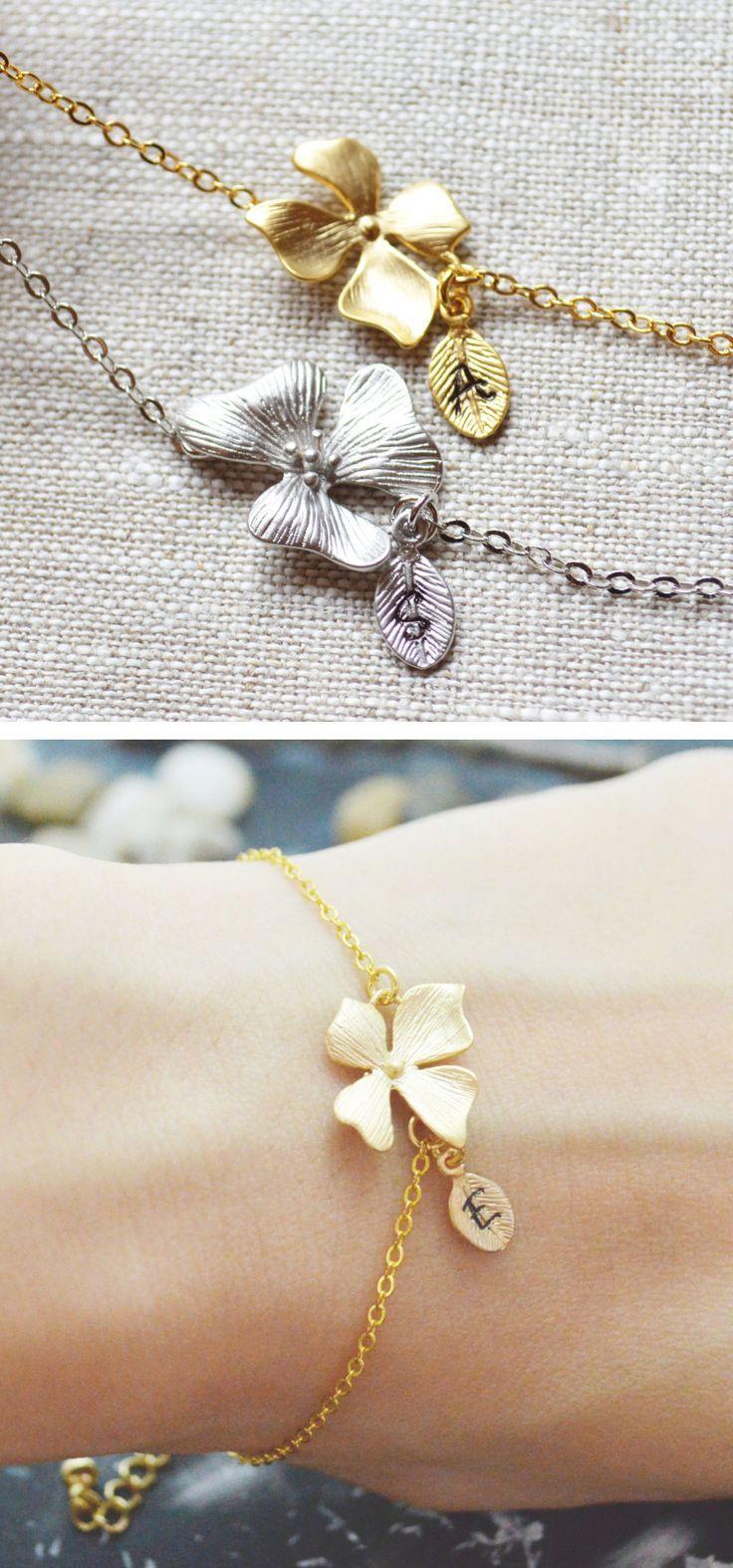 Love delicate flower bracelet shining brightness into the world