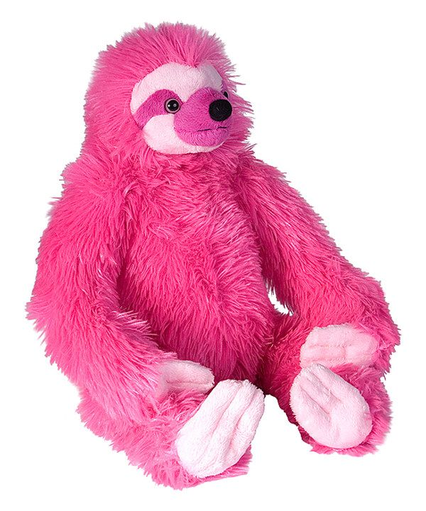 Look at this Wild Republic Pink Sloth Plush Toy on #zulily today!