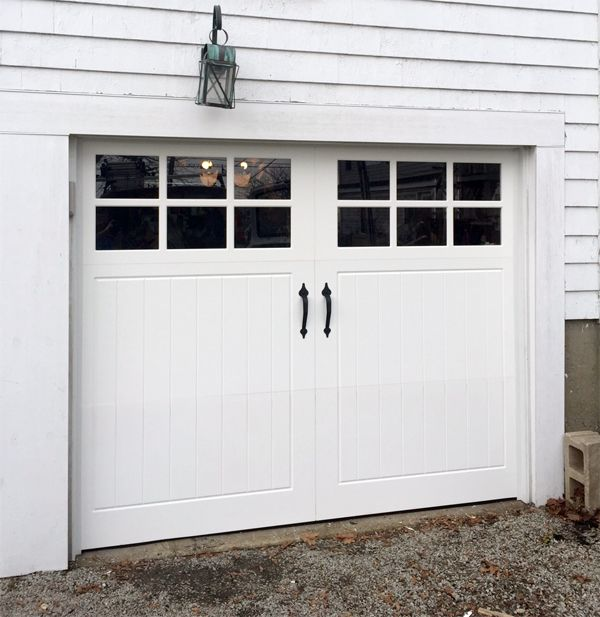 Pella Coastal Collection Vinyl Garage Door In Scituate Ma Boston