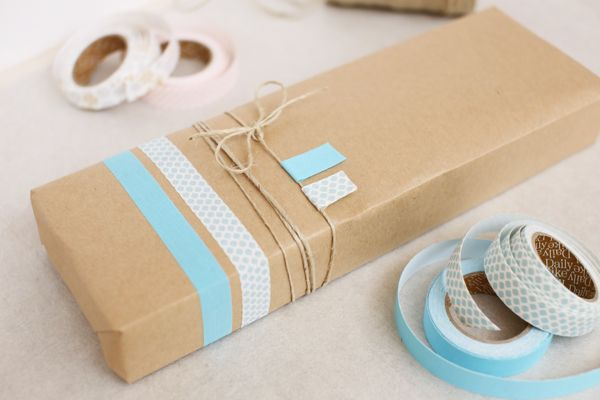 Gift Wrapping : Fabric Tape #fabrictape