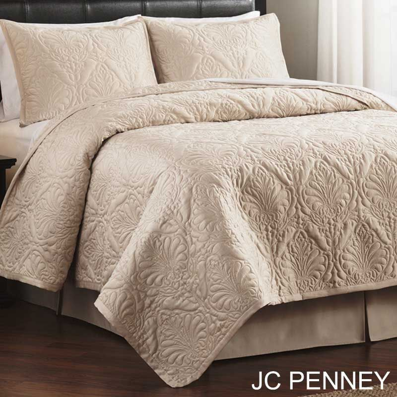 Tuscan Quilts | Reena Tuscan Bedding   Ivory Reena Coverlet Perfect For  Decorating .