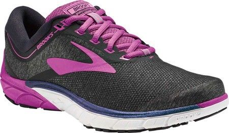 7418104773b48 Brooks Purecadence 7 Running Shoe - Black Purple Multi Women s 11.5 ...