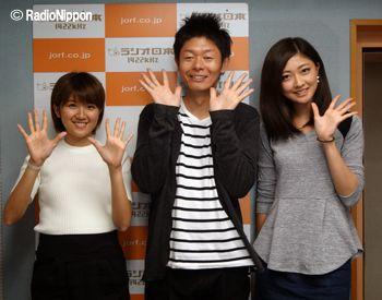 bzs_141024 / 徳永千奈美 Tokunaga Chinami、島田秀平、熊井友理奈 Kumai Yurina
