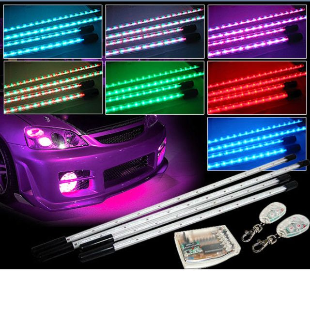 Gentil Under Car Neon Lights With 7 Diff Colors And Optional Keep Wit Beat So They  Light