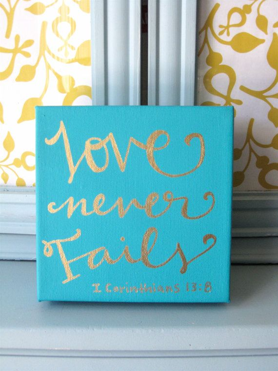 Bible Verse Canvas Scripture Art By BeanstalkLoft On Etsy