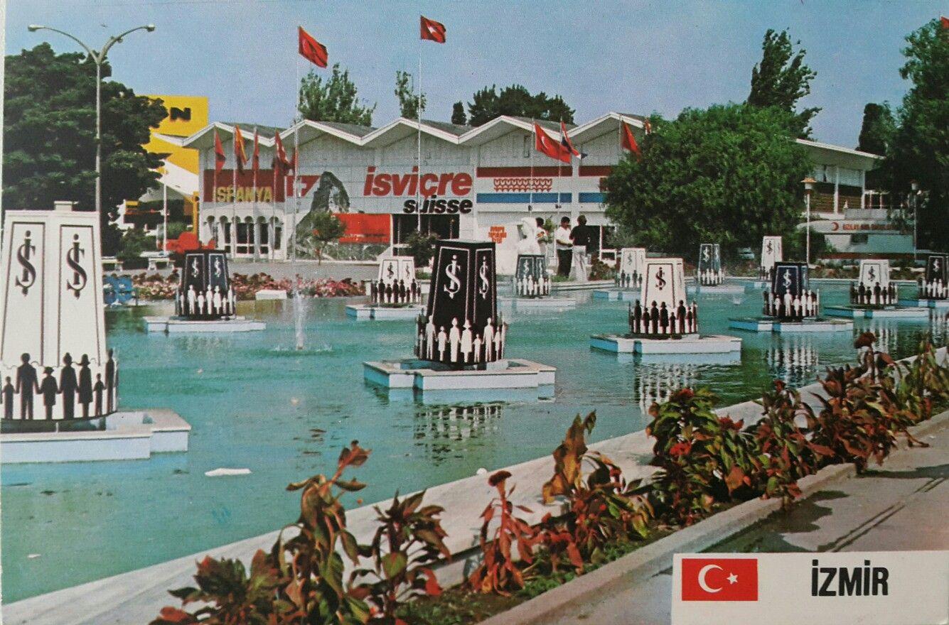 Izmir Enternasyonal Fuari Turkiye Resimler Turk Mimarisi