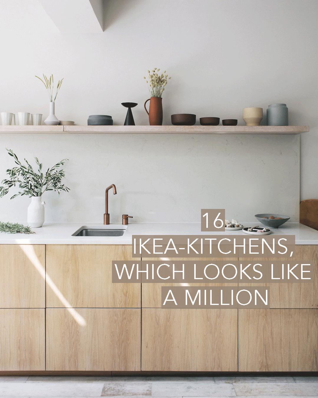 16 IKEA-køkkener der ligner en million