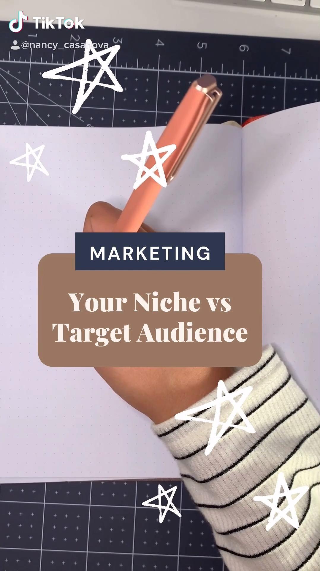Video Niche Vs Target Audience Di 2021 Inspirasi