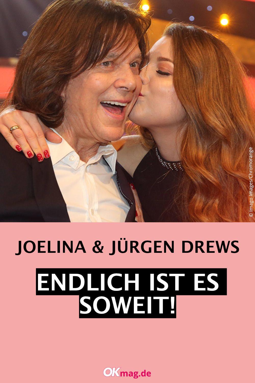 Jurgen Drews Und Tochter Joelina Endlich Ist Es Soweit Jurgen Drews Silbereisen Florian Silbereisen