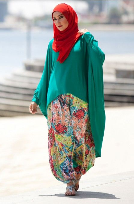 Hijab Fashion Model