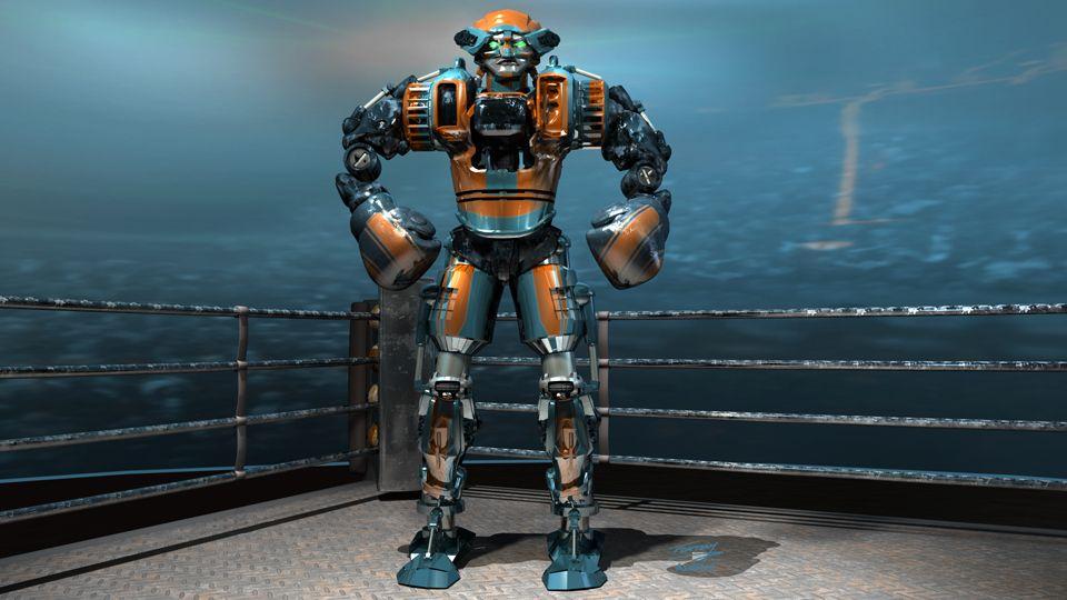 картинки метро робота из живой стали находится