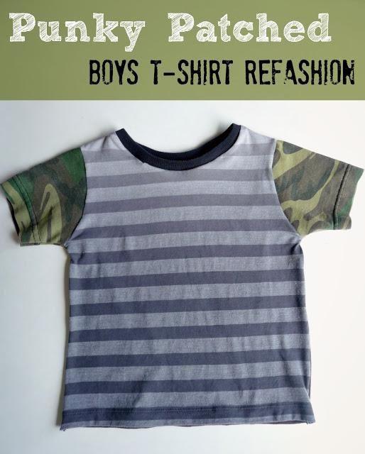 DIY Clothes DIY Refashion DIY Little Boys Punky Patchwork ...