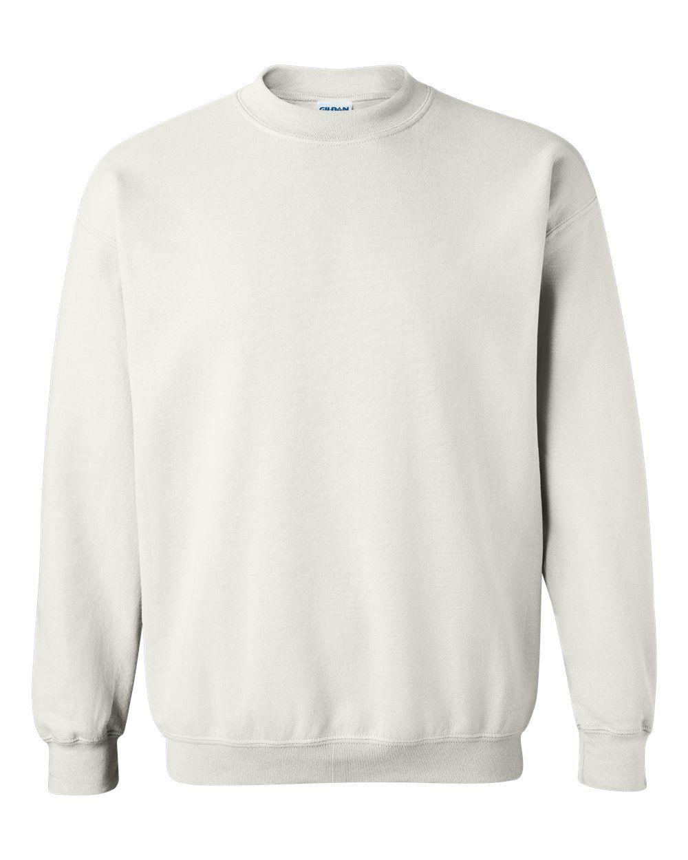 Gildan Heavy Blend Crewneck Sweatshirt 18000 White X Large In 2021 Crew Neck Sweatshirt Sweatshirts Mens Sweatshirts Hoodie [ 1250 x 1000 Pixel ]