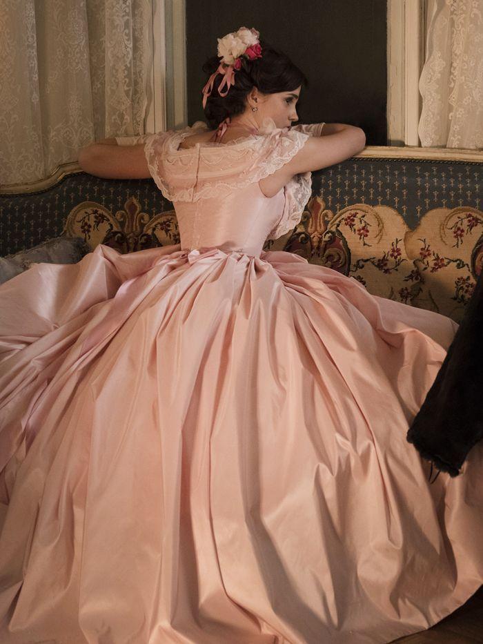 Emma Watson's Little Women Costume Is Giving Us Major Yule Ball Feels