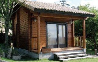 Planos casas de madera prefabricadas casas peque as - Cabanas de madera pequenas ...