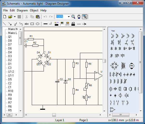 free diagram designer free open source schematics flowchart design software visio alternative - Visio Open