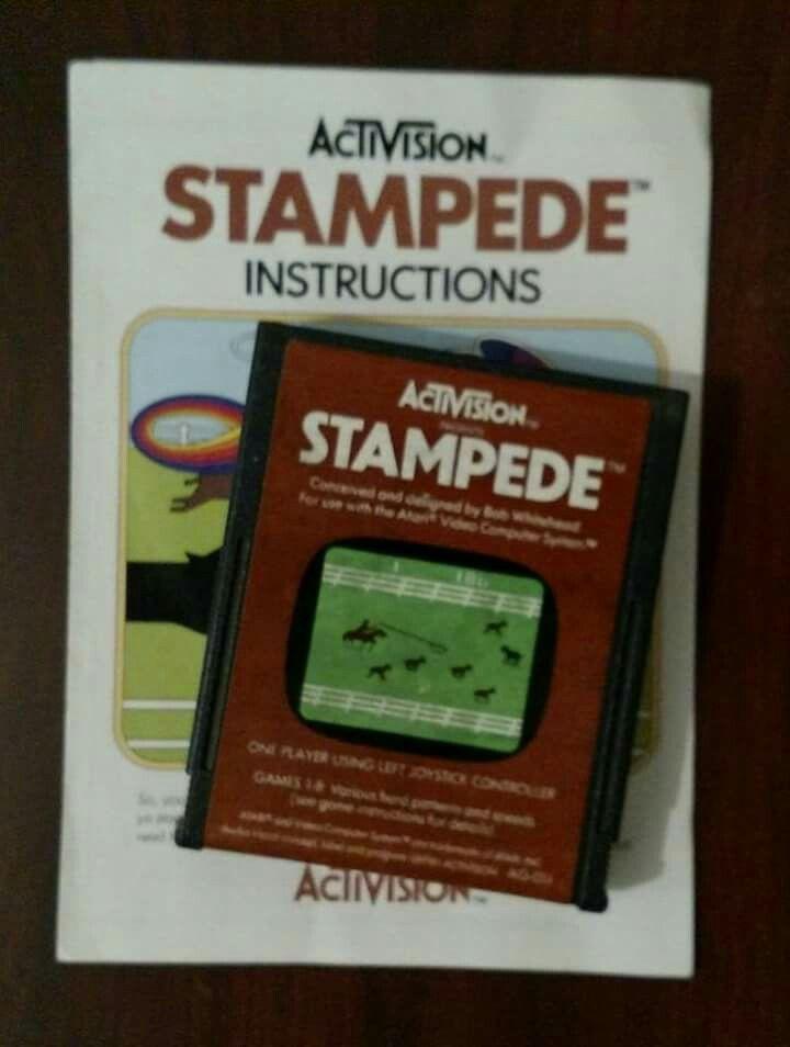 Stampede Vintage Video Games Retro Video Games Retro Gaming