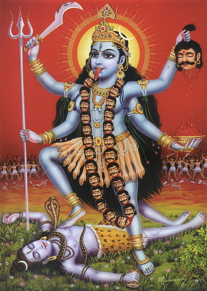 Goddess Of Time Creation Destruction And Power Kali Goddess Kali Tattoo Kali Martial Art Kali Quotes Kali Ill Kali Gottin Hinduistische Gotter Kali Mata
