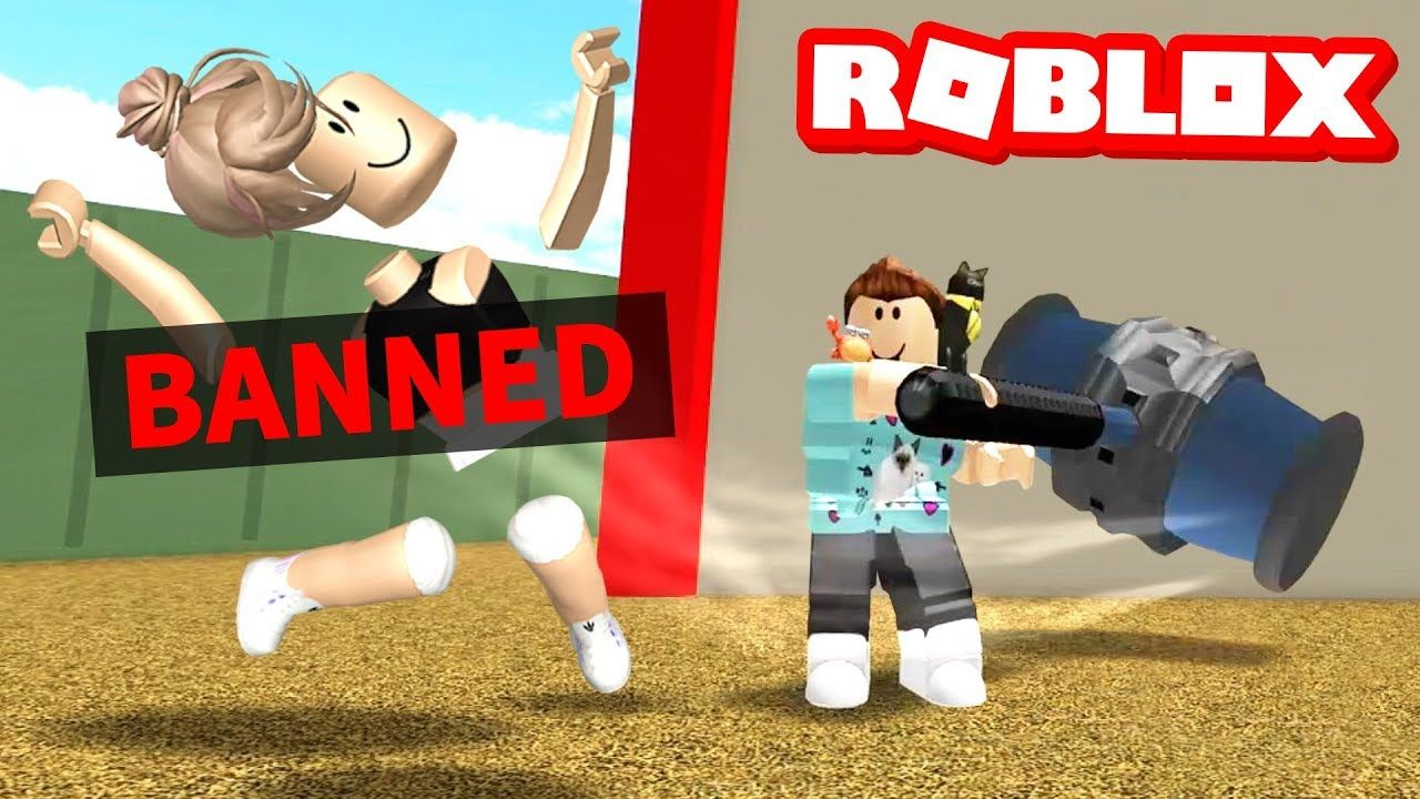 Denis Horror Roblox I Got The Roblox Ban Hammer Youtube Roblox What Is Roblox How To Play Minecraft
