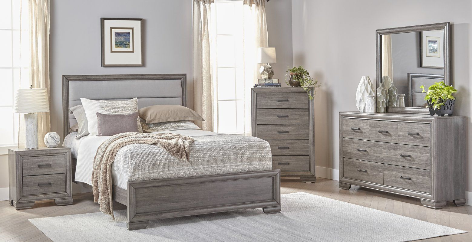 Chicora Standard Configurable Bedroom Set In 2021 Traditional Bedroom Furniture Bedroom Sets Queen Grey Bedroom Furniture