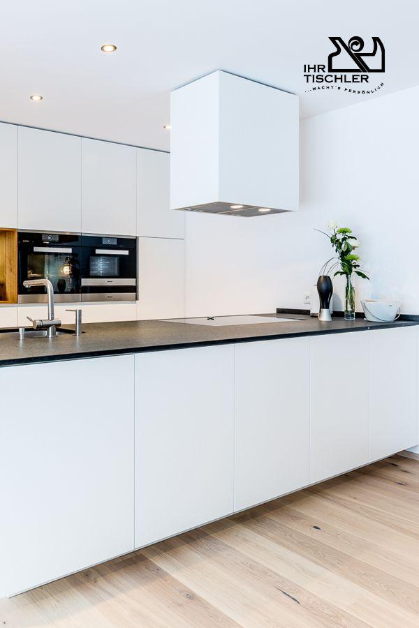 Ein Traum in weiß! Moderne Küche von der Tischlerei Kubik3 aus - bilder in der küche