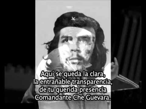 Hasta Siempre Comandante Che Guevara Y Letras Che Guevara Spanish Class Cuba