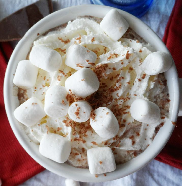 Cocoa With Whipped Cream Vodka Recipe Beverages, Cocktails