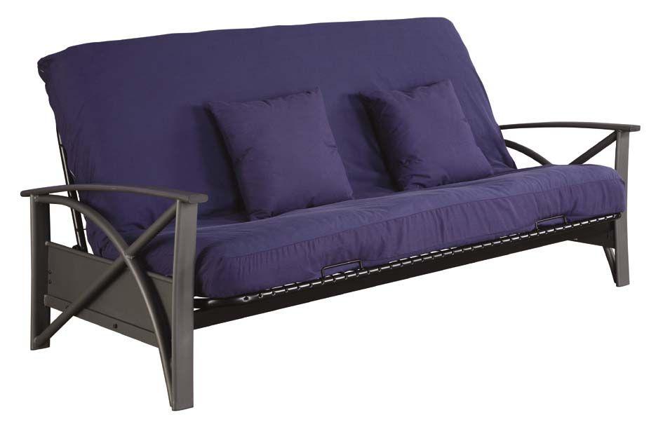 queen size futon frame and mattress serta brussels futon frame queen size black products pinterest