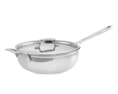 All Clad D5 Stainless Steel Essential Pan 4 Qt My Wish