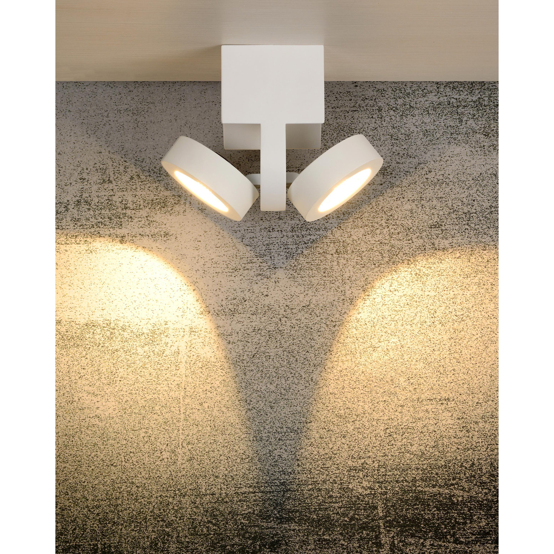 Spot Led Integree Moderne Aluminium Blanc Lucide Mitrax Spot
