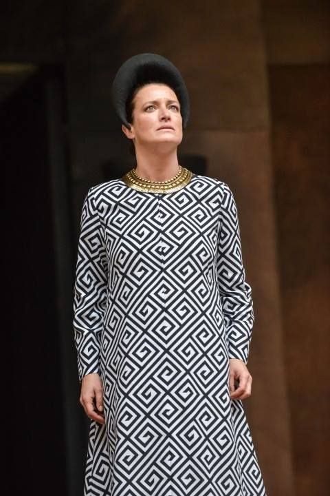 Katy Stephens (Clytemnestra)  The Oresteia