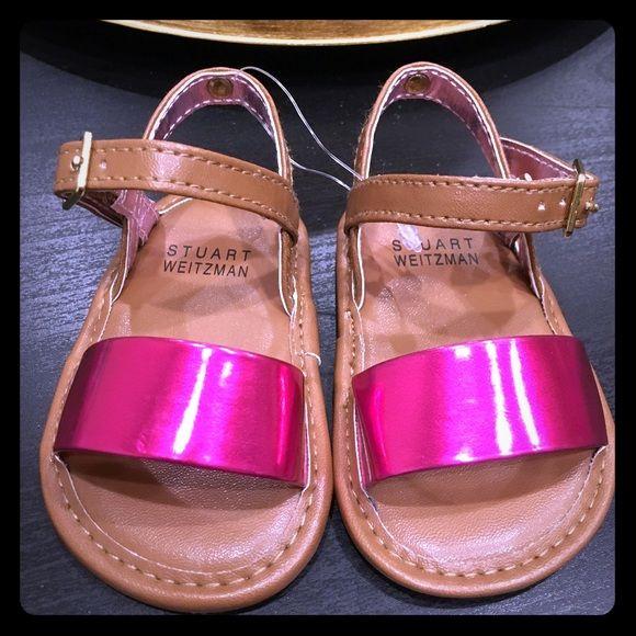 SUPER CUTE Stuart Weitzman Baby Sandals!😻 Brand New. Baby