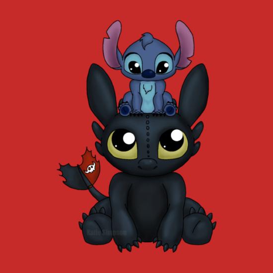 Stitch mashup tees from TeePublic | Inside the Magic