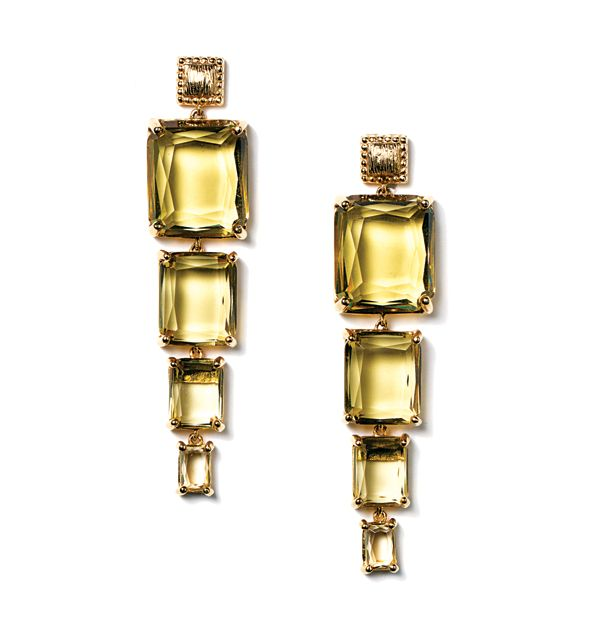 """I don't have pierced ears, but if I did… 