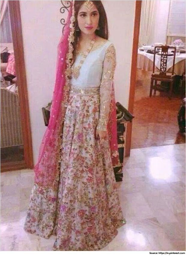 Mehndi Outfits : Mesmerizing pakistani mehndi dresses and designs