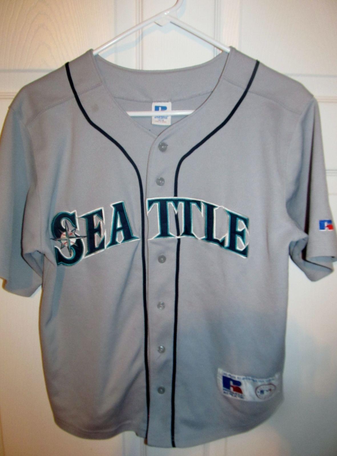 finest selection 7ca84 350dc Ichiro Suzuki , Seattle Mariners jersey , Youth medium ...