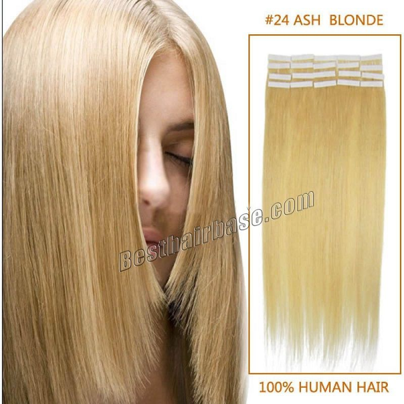 High Quality Seamless 24 Ash Blonde Take On Hair Extensions