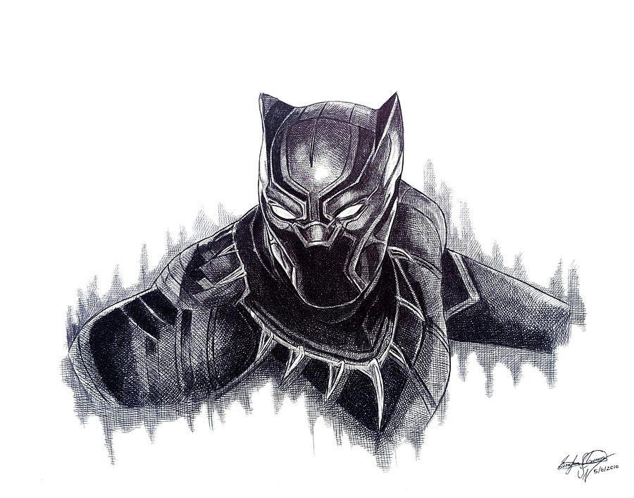 Image Result For Black Panther Marvel Tattoo Captain America Civil War Black Panther Marvel Tattoos