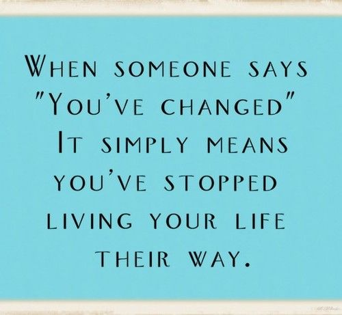 quotes about change in life & love