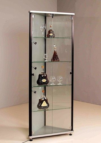 Nox Glass And Wood Display Cabinets Luxury Modern Furniture Rustic Dining Furniture Modern China Cabinet