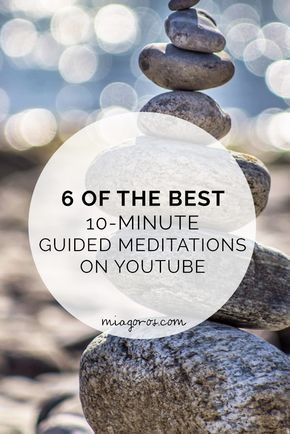With our busy lives, it can be difficult to find time for ourselves to meditate. However, these 10-minute guided meditations are perfect! Release your stress, anxiety and overall worry. Click to read or pin for later!