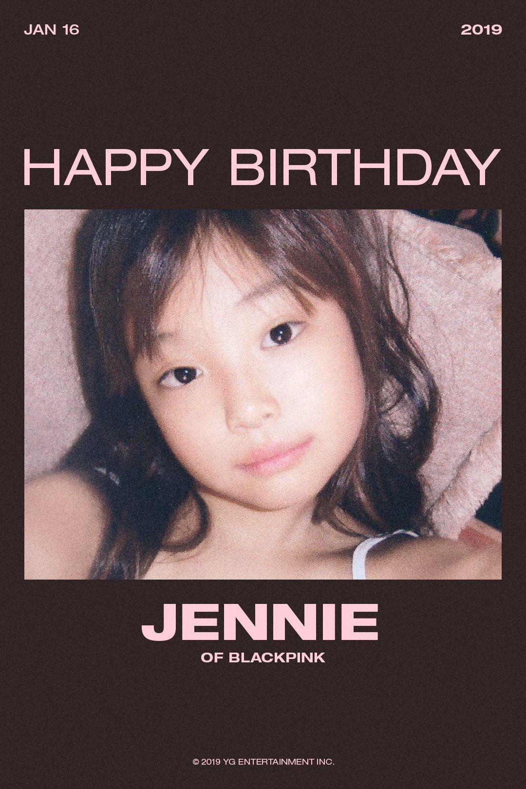 Lagu Happy Birthday Korea : happy, birthday, korea, HAPPY, BIRTHDAY, #JENNIE, #BLACKPINK, #블랙핑크, #제니, #HAPPYBIRTHDAY, #20190116, Entertainment,, Lagu,, Black