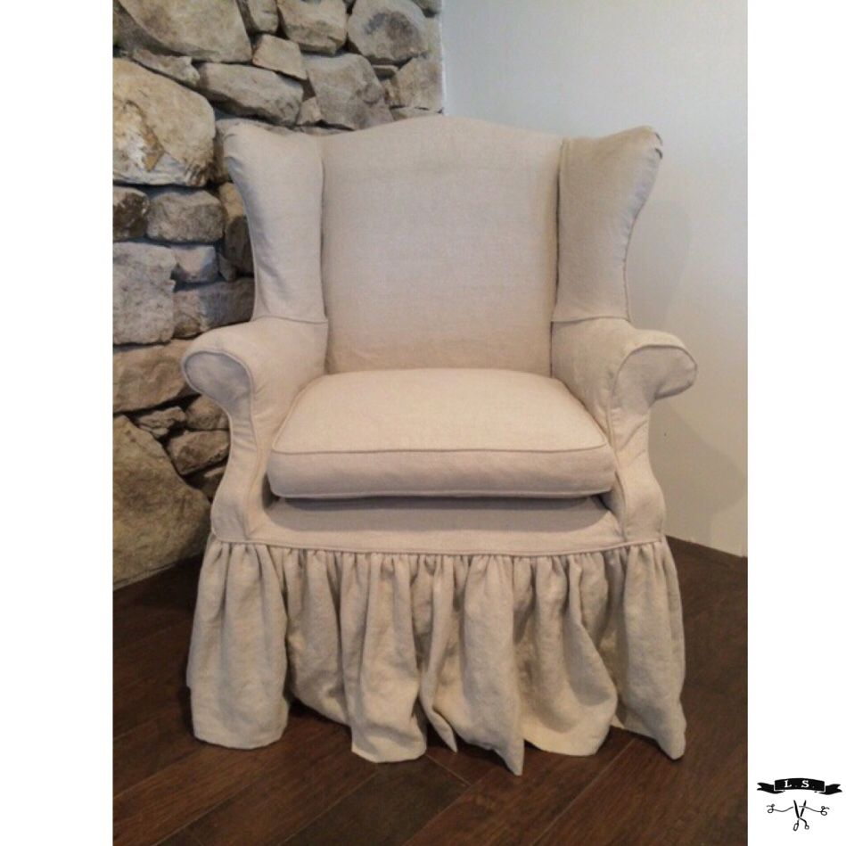 This Is A Piece That We Ls Slipcovers Did For A Client In