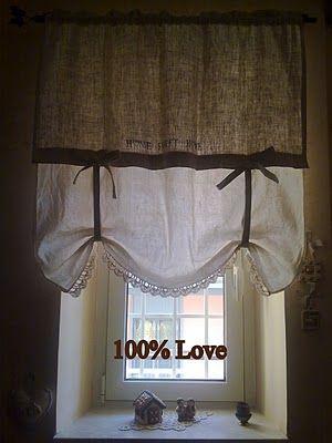 Semplicemente Ketti from 100%LOVE: Tenda Country | Tende | Pinterest ...