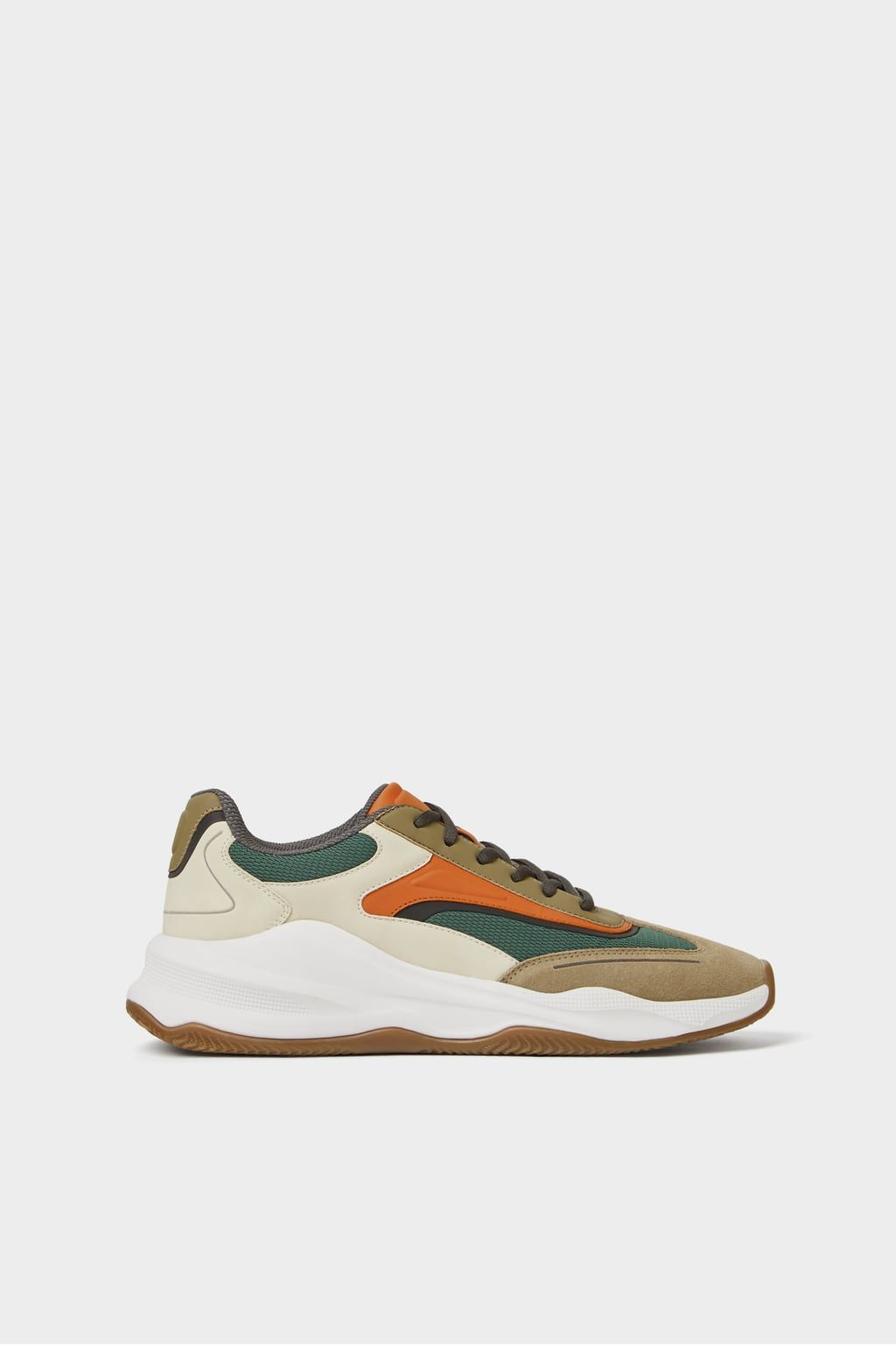 buy online db3db cab58 Image 1 of SNEAKERS WITH THICK SOLES from Zara