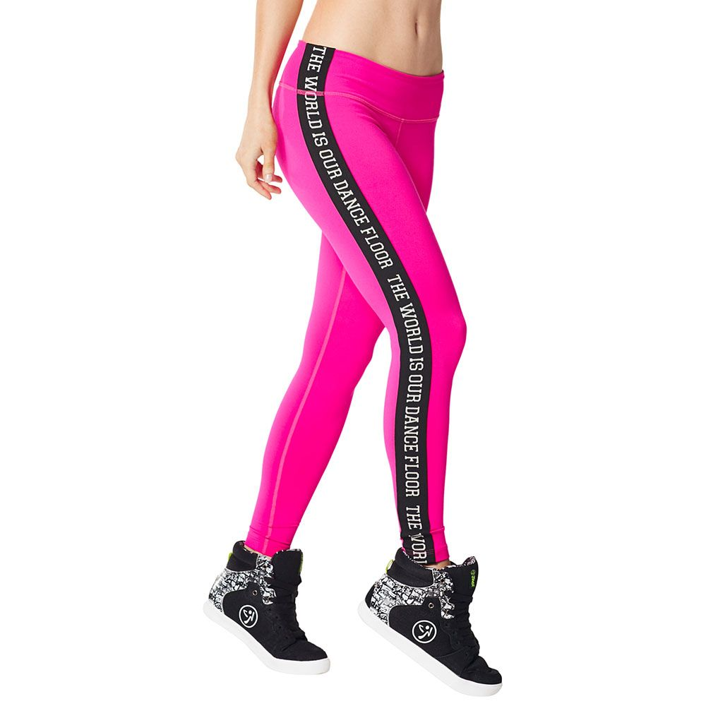 Zumba Fitness Leggings: SHOCKING PINK ------------- Make The